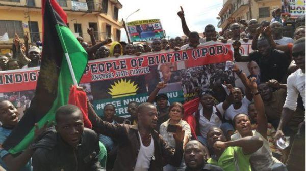 biafra protes