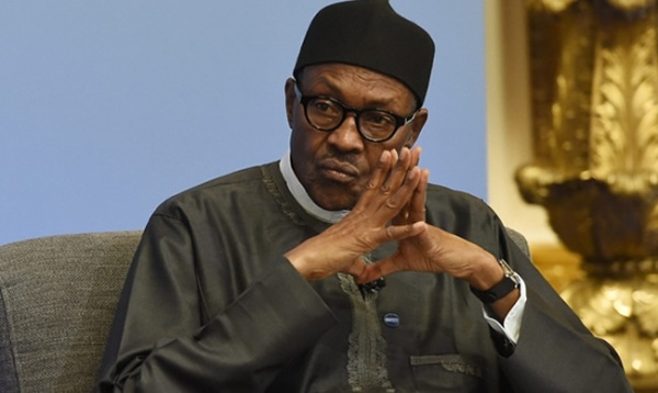Buhari latest gazing