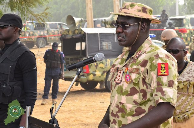 buratai speaking