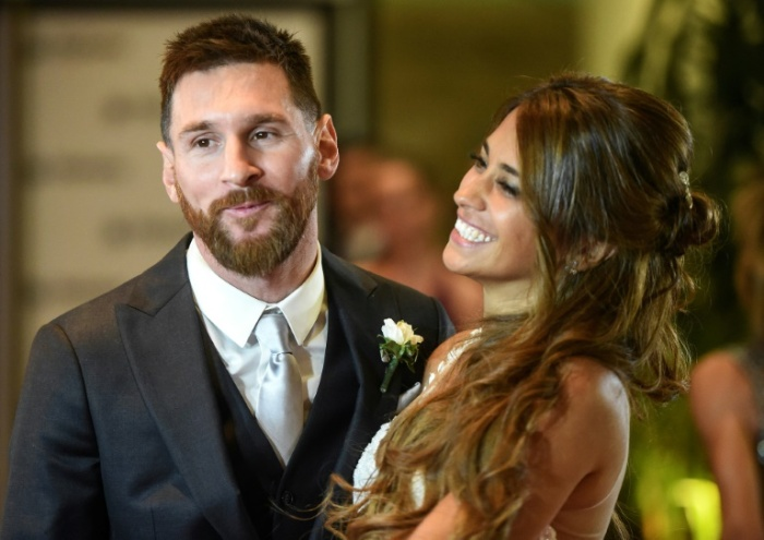 messi and sweetheart