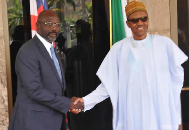 Liberian-President-George-Weah-and-President-Muhammadu-Buhari