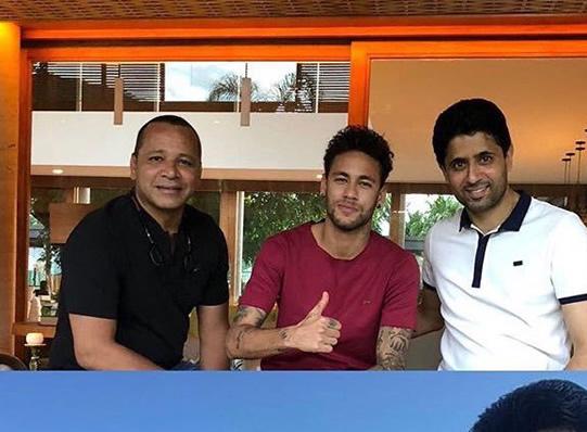 PSG-president-visit-Neymar