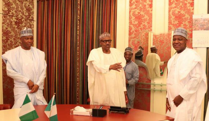President-Buhari-reaches-out-to-Dogora-for-a-handshake