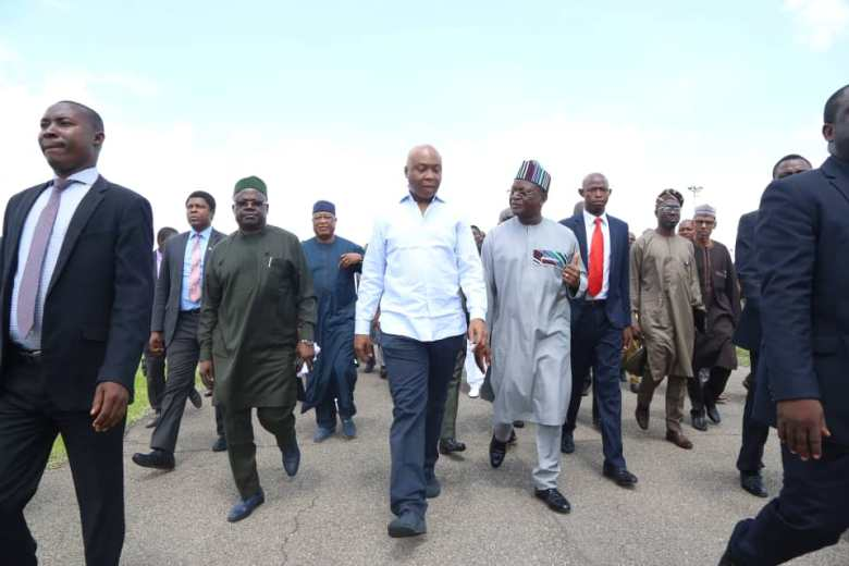 saraki visits benue