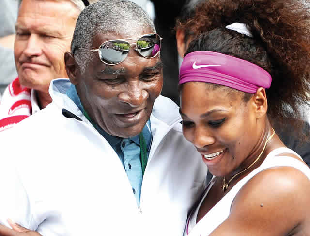 serena and father