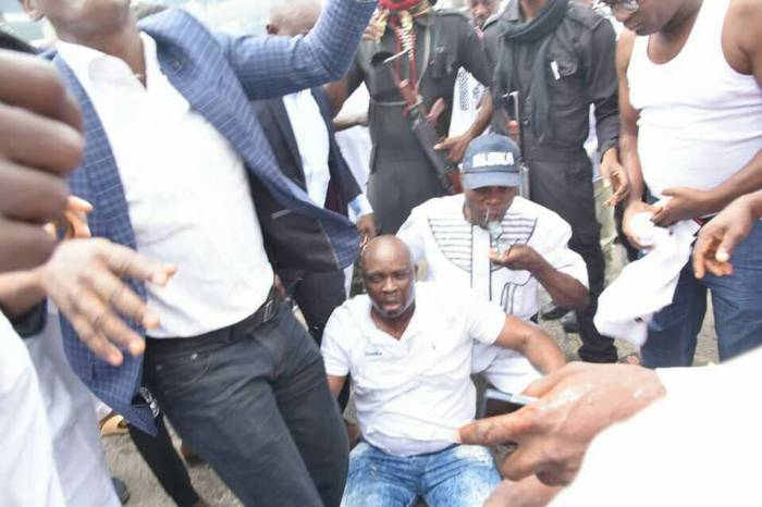 fayose teargased