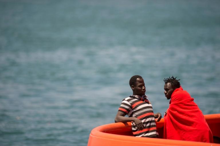 migrants rescued in spain