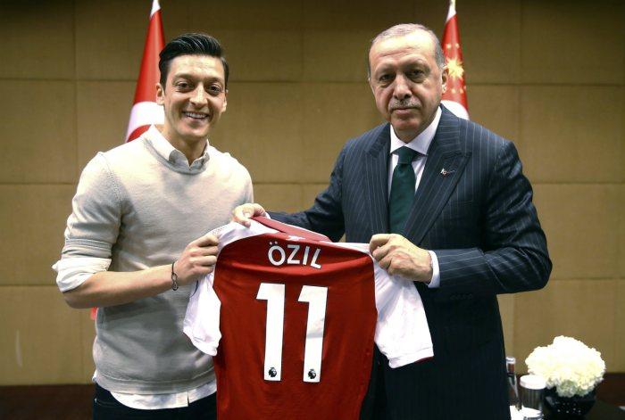 ozil and erdogna