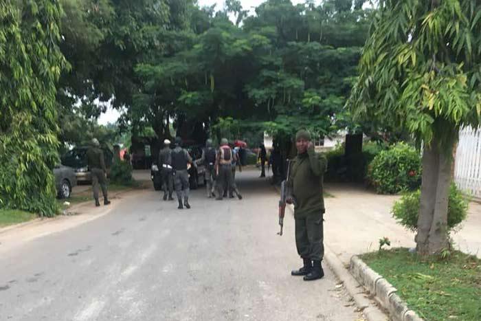 police lay siege ike ekweremadu