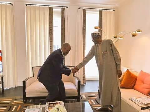 akpabio buhari london
