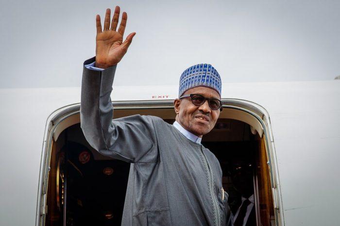 Buhari-departs-LEAVES