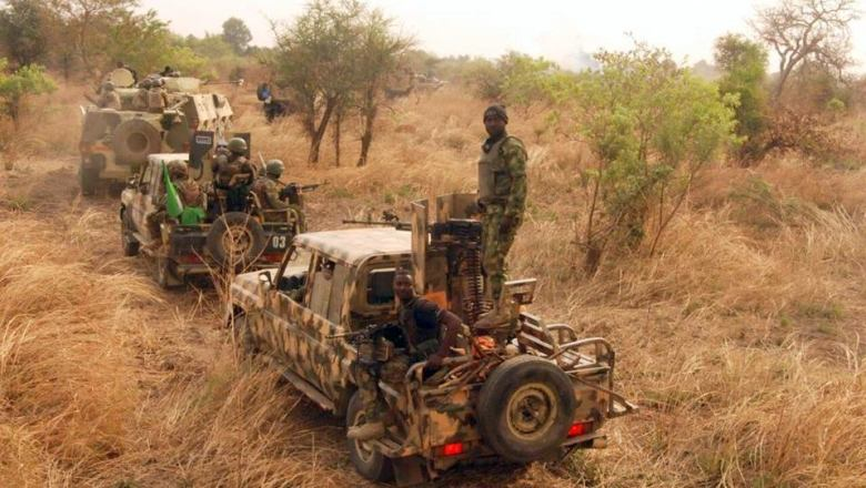 soldiers in sambisa