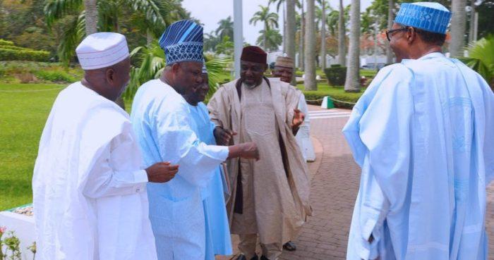 buhari and apc governors
