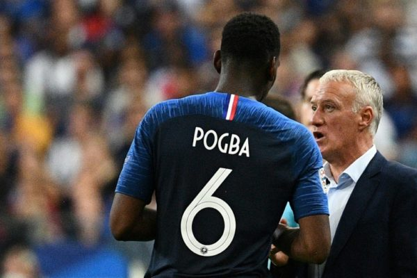 deschamps and pogba
