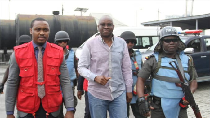 fayose in court