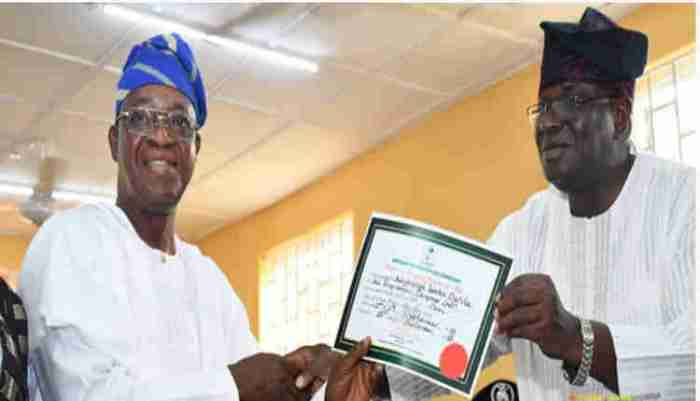 Oyetola (1) cert of return