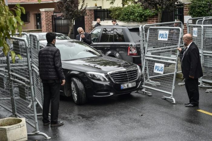 turkey police saudi embassy