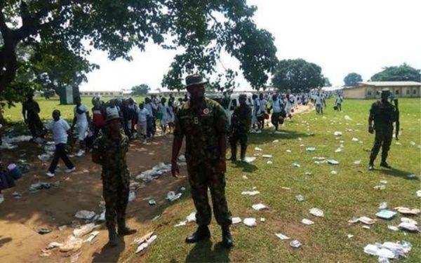 army militia camp