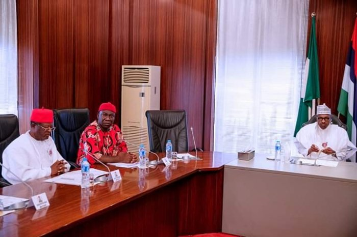 buhari and SE govs