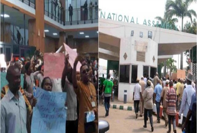Gates-Blocked-As-National-Assembly-Workers-Begin-Strike-640x431