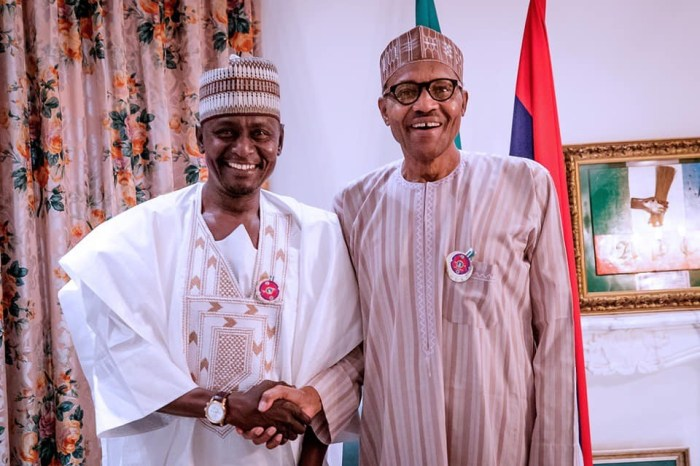 buhari and pdp deputy