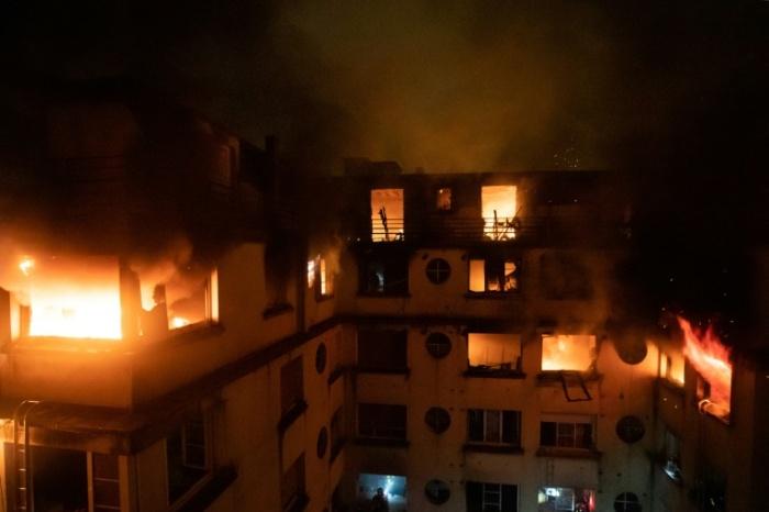 arson in paris