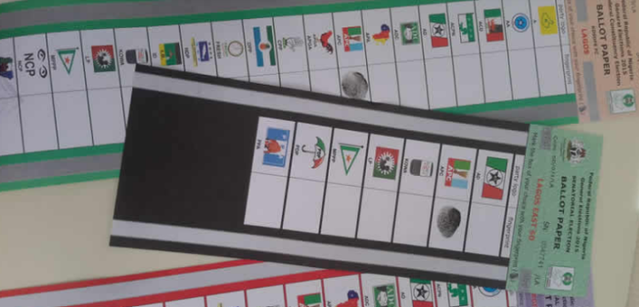 ballot specimen