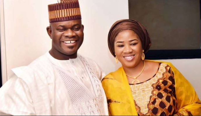 yahaya bello and wife