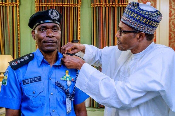 Ag-IGP-Mohammed-Adamu-with-President-Muhammadu-Buhari-