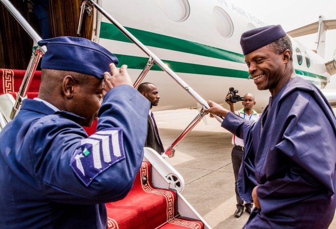 osinbajo-leaves-nigeria-for-ecowas-summit